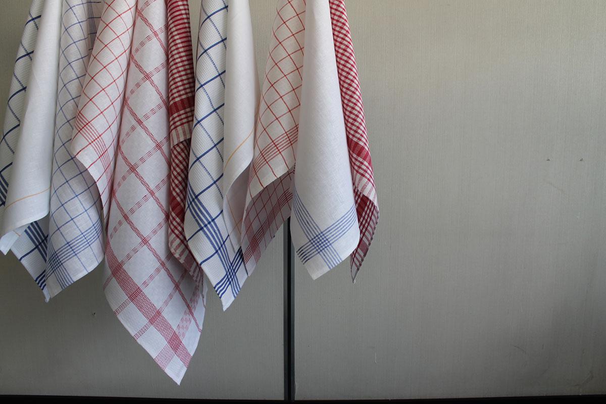 biancheria da tavola e tessile asciugamani cucina