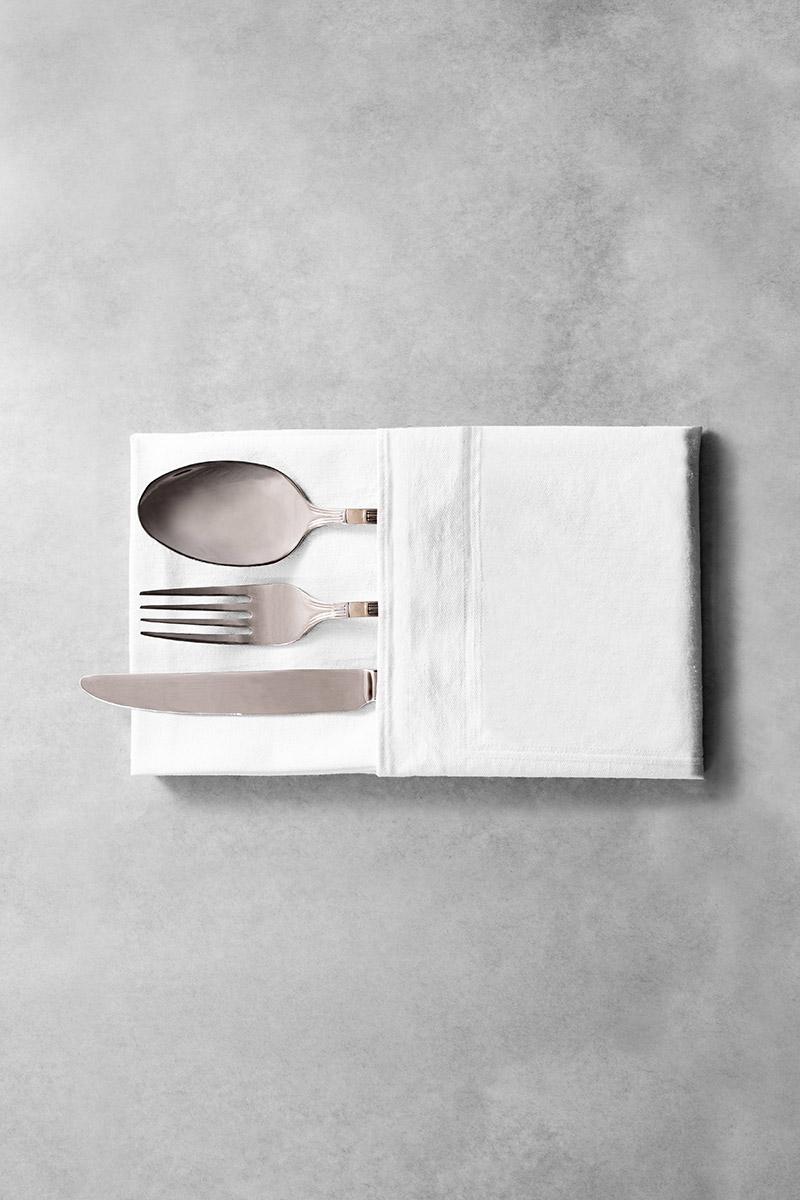 biancheria da tavola e tessile posate