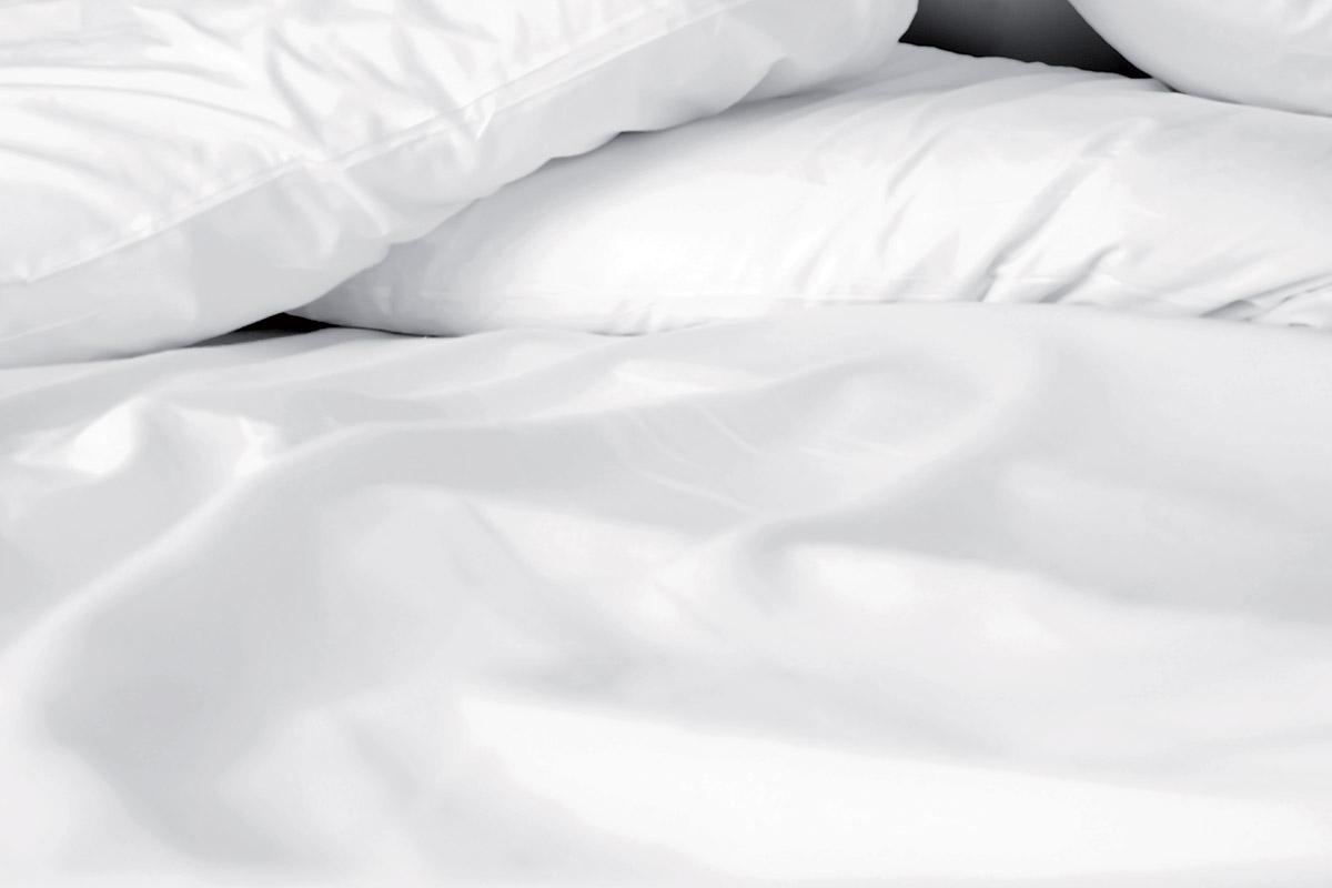 hotex biancheria da letto lenzuola white