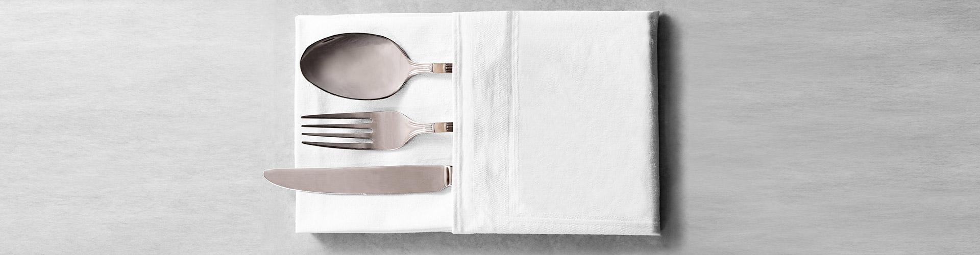 testata biancheria da tavola e tessile