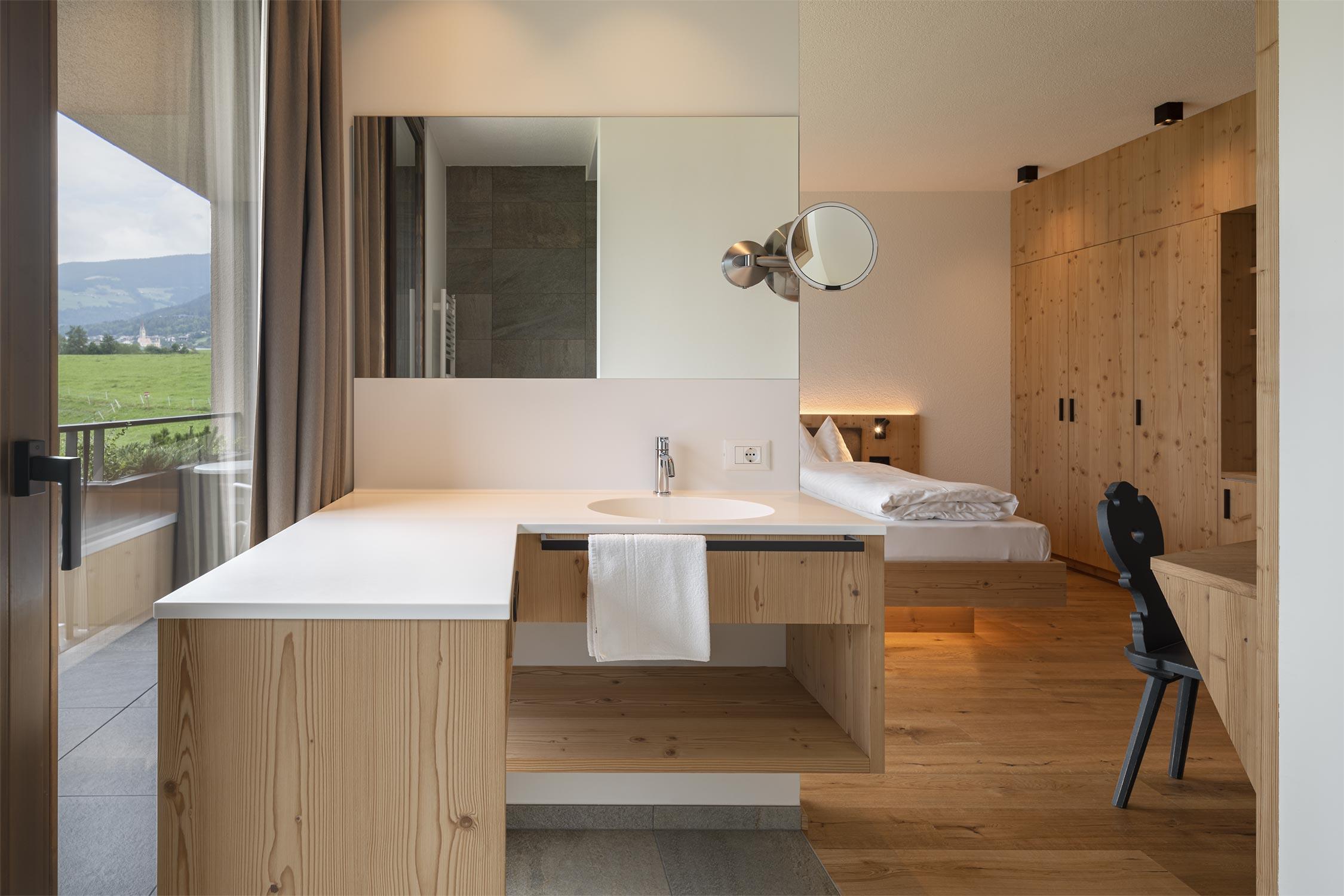©HOTEL FISCHER KLERANT - BRESSANONE | PROJECT: ARCH. COMFORT ARCHITECTEN M. MICHELI & M. MUMELTER